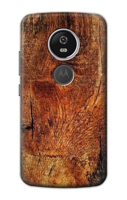 S1140 Wood Skin Graphic Case For Motorola Moto E5 Plus