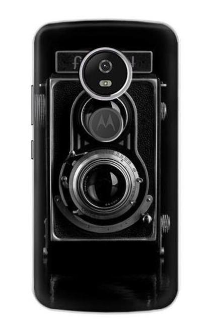 S1979 Vintage Camera Case For Motorola Moto E5 Plus