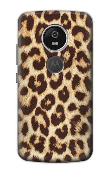 S2204 Leopard Pattern Graphic Printed Case For Motorola Moto E5 Plus