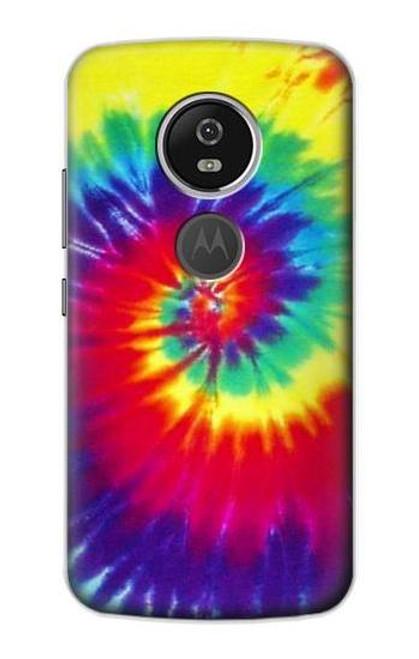 S2884 Tie Dye Swirl Color Case For Motorola Moto E5 Plus