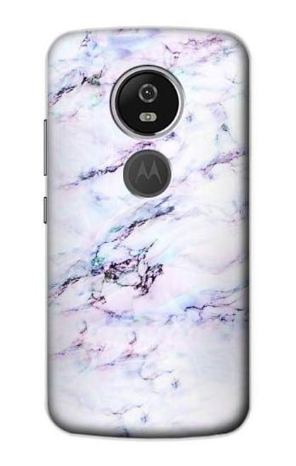 S3215 Seamless Pink Marble Case For Motorola Moto E5 Plus