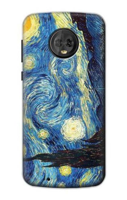 S0213 Van Gogh Starry Nights Case For Motorola Moto G6