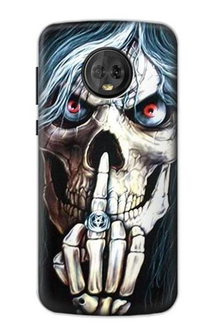 S0222 Skull Pentagram Case For Motorola Moto G6