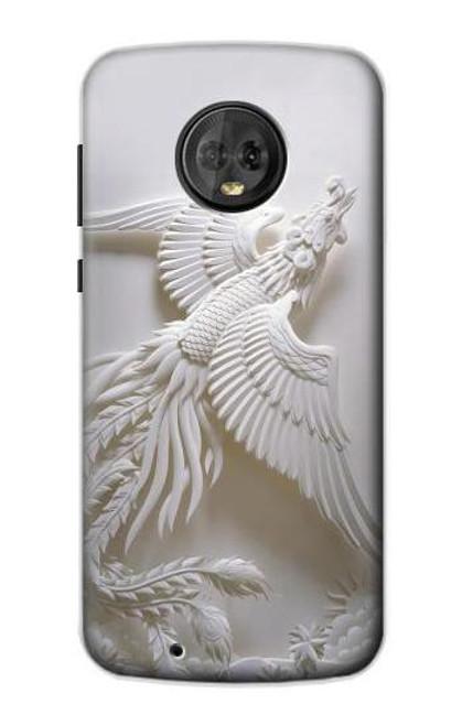 S0516 Phoenix Carving Case For Motorola Moto G6