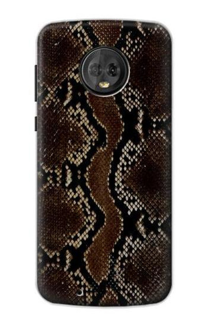 S0553 Snake Skin Case For Motorola Moto G6