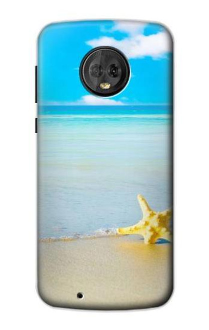 S0911 Relax at the Beach Case For Motorola Moto G6