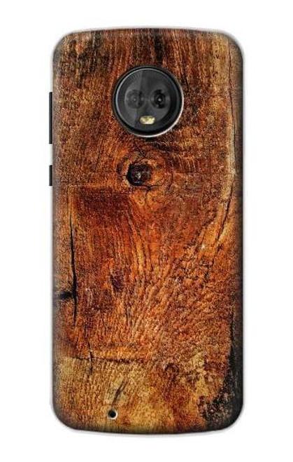 S1140 Wood Skin Graphic Case For Motorola Moto G6