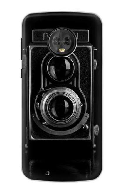 S1979 Vintage Camera Case For Motorola Moto G6