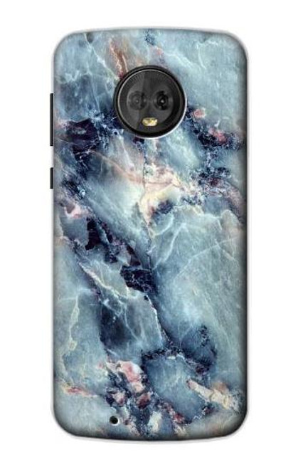 S2689 Blue Marble Texture Graphic Printed Case For Motorola Moto G6