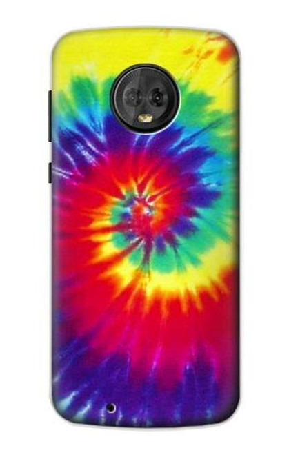 S2884 Tie Dye Swirl Color Case For Motorola Moto G6