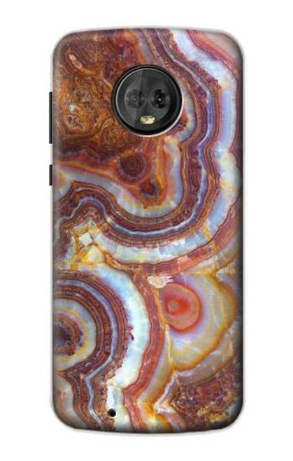 S3034 Colored Marble Texture Printed Case For Motorola Moto G6