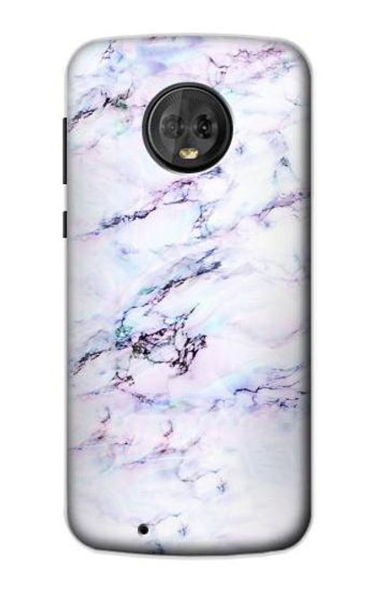S3215 Seamless Pink Marble Case For Motorola Moto G6