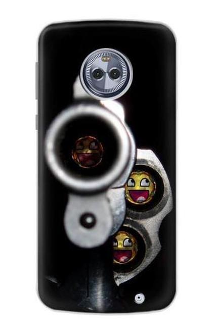 S1109 Smile Bullet Gun Case For Motorola Moto G6 Plus