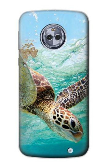 S1377 Ocean Sea Turtle Case For Motorola Moto G6 Plus