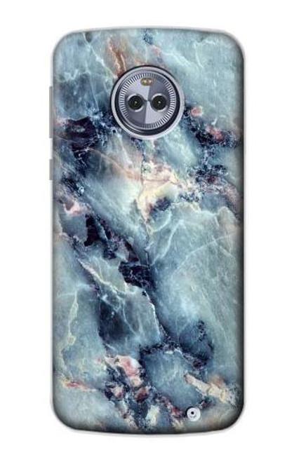 S2689 Blue Marble Texture Graphic Printed Case For Motorola Moto G6 Plus