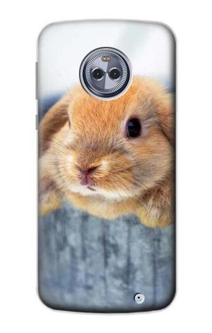 S0242 Cute Rabbit Case For Motorola Moto X4