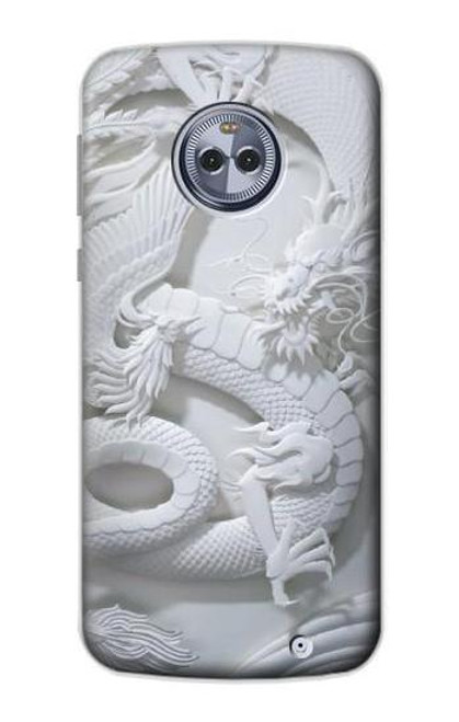 S0386 Dragon Carving Case For Motorola Moto X4
