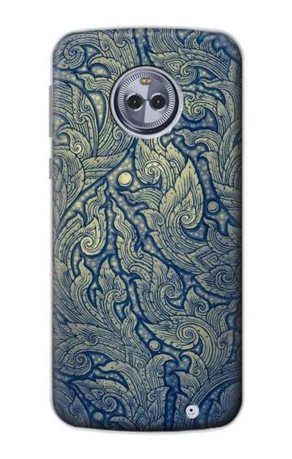 S0568 Thai Art Case For Motorola Moto X4