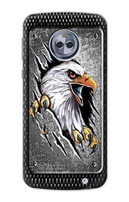 S0855 Eagle Metal Case For Motorola Moto X4