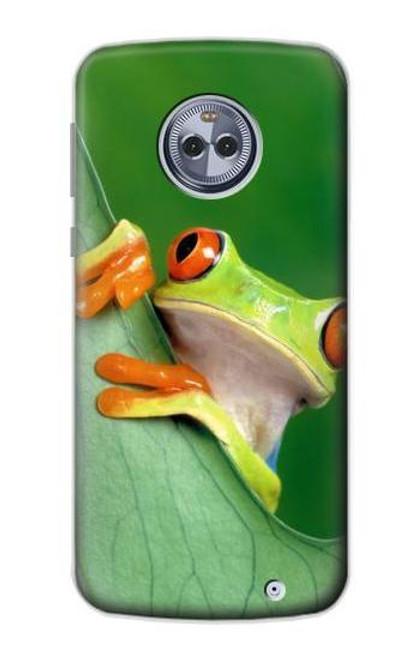 S1047 Little Frog Case For Motorola Moto X4