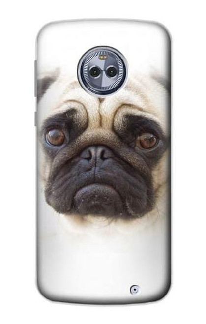 S1852 Pug Dog Case For Motorola Moto X4