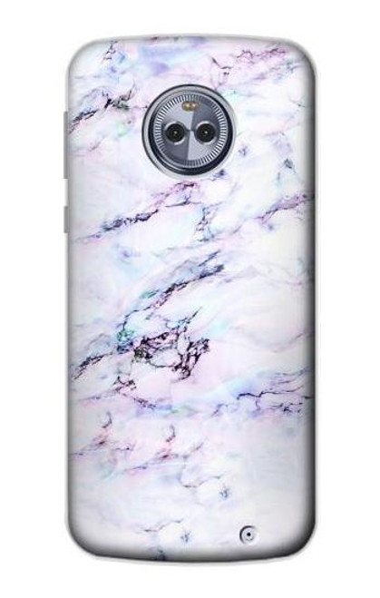 S3215 Seamless Pink Marble Case For Motorola Moto X4