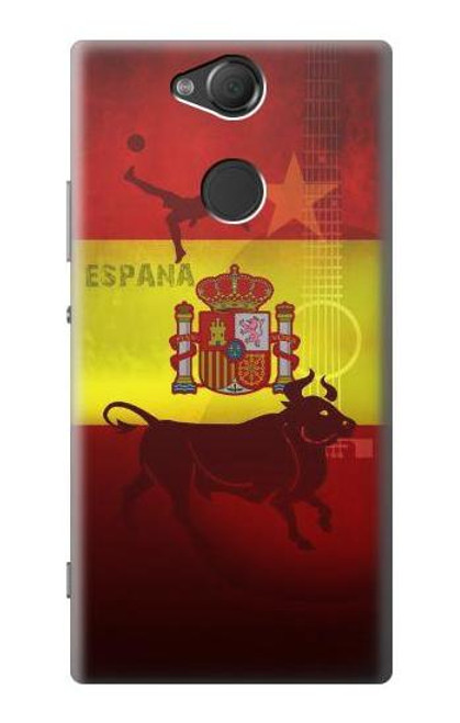 S2984 Spain Football Soccer Euro 2016 Case For Sony Xperia XA2