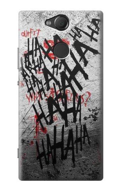 S3073 Hahaha Blood Splash Case For Sony Xperia XA2