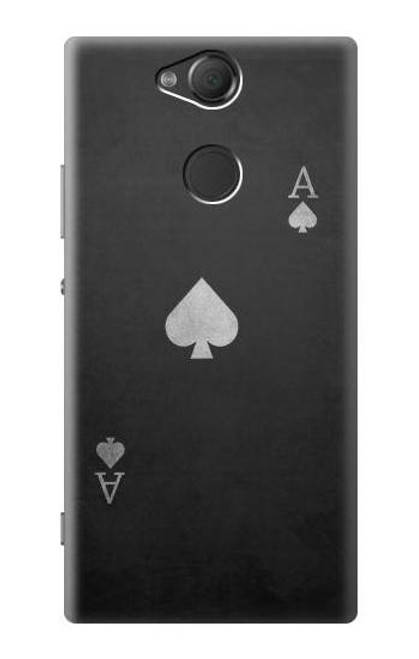 S3152 Black Ace of Spade Case For Sony Xperia XA2