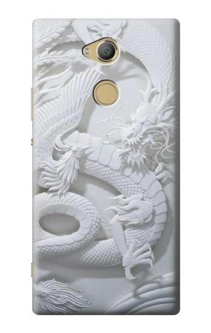 S0386 Dragon Carving Case For Sony Xperia XA2 Ultra