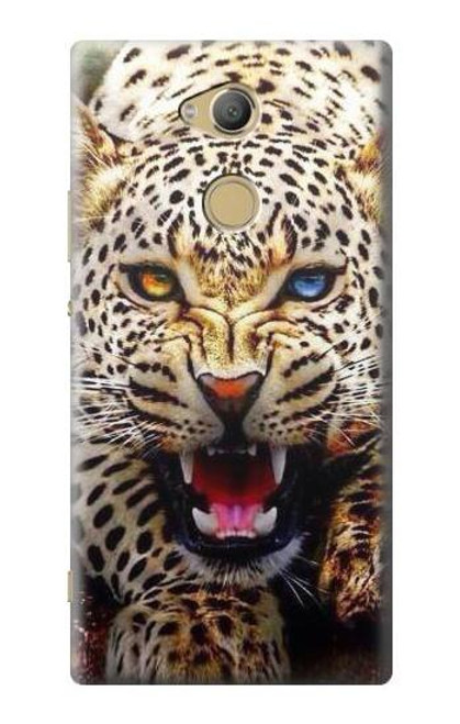 S1932 Blue Eyed Leopard Case For Sony Xperia XA2 Ultra