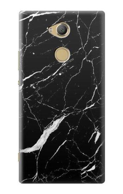 S2895 Black Marble Graphic Printed Case For Sony Xperia XA2 Ultra