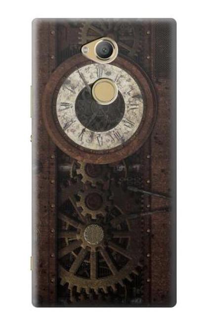S3221 Steampunk Clock Gears Case For Sony Xperia XA2 Ultra