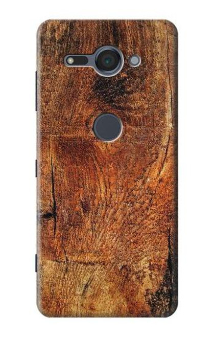 S1140 Wood Skin Graphic Case For Sony Xperia XZ2 Compact
