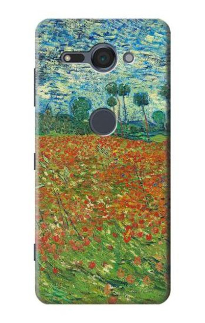 S2681 Field Of Poppies Vincent Van Gogh Case For Sony Xperia XZ2 Compact