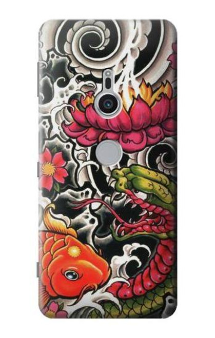 S0605 Yakuza Tattoo Case For Sony Xperia XZ2