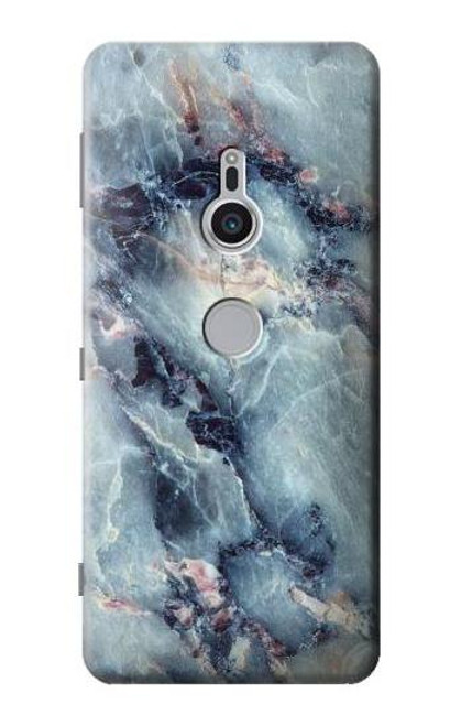 S2689 Blue Marble Texture Graphic Printed Case For Sony Xperia XZ2