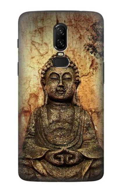 S0344 Buddha Rock Carving Case For OnePlus 6