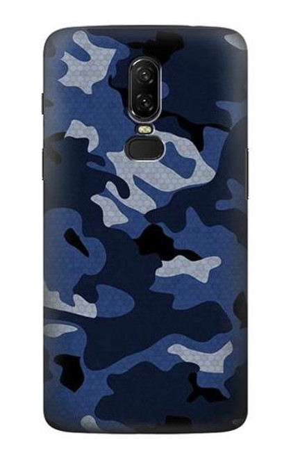S2959 Navy Blue Camo Camouflage Case For OnePlus 6