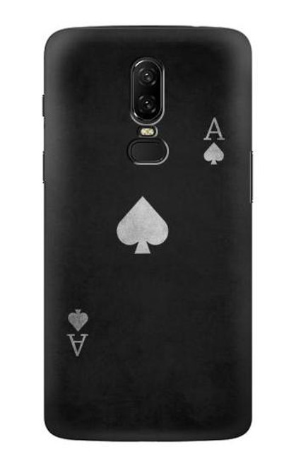 S3152 Black Ace of Spade Case For OnePlus 6