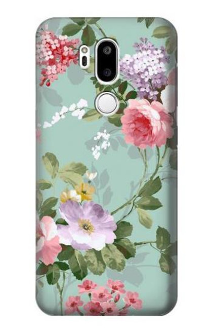 S2178 Flower Floral Art Painting Case For LG G7 ThinQ