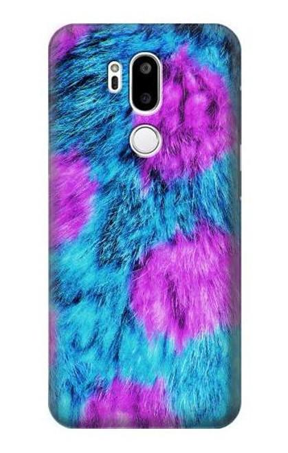 S2757 Monster Fur Skin Pattern Graphic Case For LG G7 ThinQ
