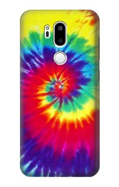 S2884 Tie Dye Swirl Color Case For LG G7 ThinQ