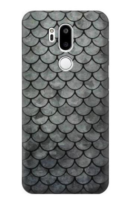 S2950 Silver Fish Scale Case For LG G7 ThinQ