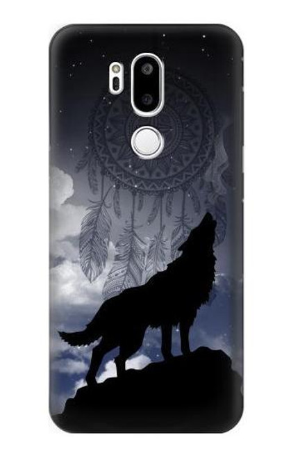 S3011 Dream Catcher Wolf Howling Case For LG G7 ThinQ