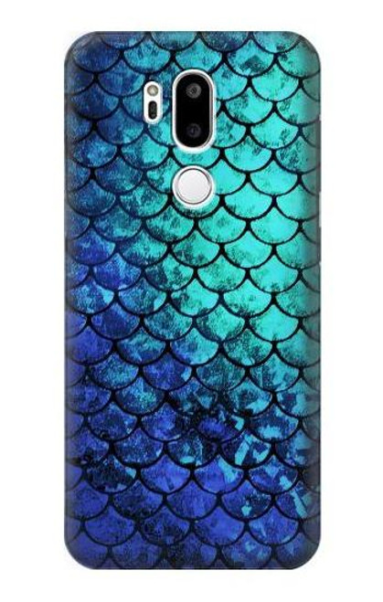S3047 Green Mermaid Fish Scale Case For LG G7 ThinQ