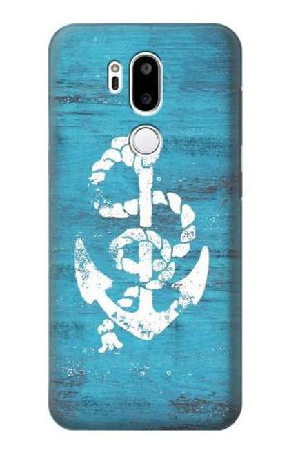 S3053 Marine Anchor Blue Case For LG G7 ThinQ