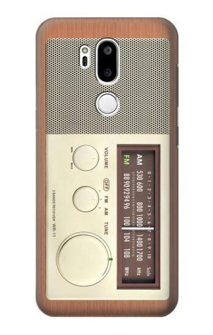S3165 FM AM Wooden Receiver Graphic Case For LG G7 ThinQ