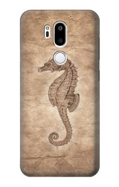 S3214 Seahorse Skeleton Fossil Case For LG G7 ThinQ