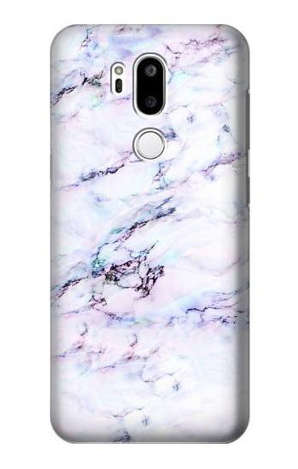 S3215 Seamless Pink Marble Case For LG G7 ThinQ